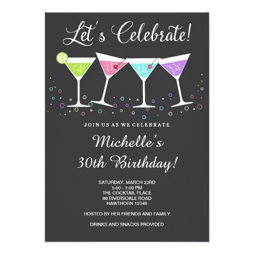 30th birthday invitation adult birthday invite