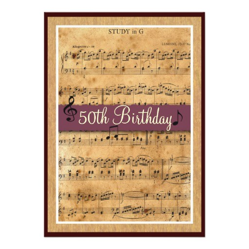 50th birthday party invitation customizable