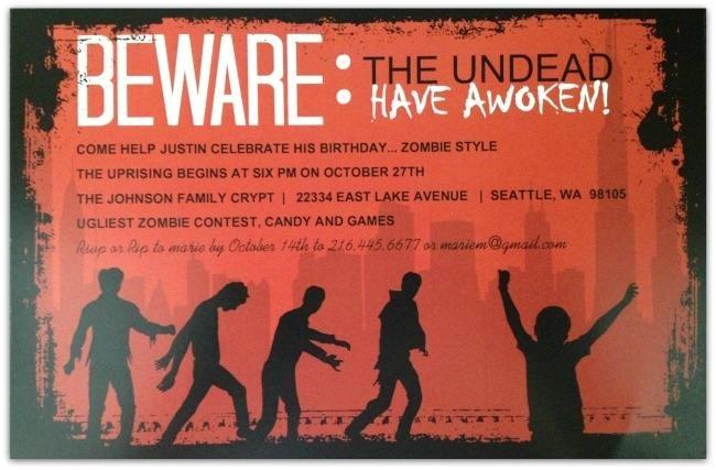 awesome boy birthday party invite ideas invitation