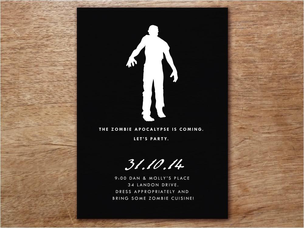 zombies bats and dia de los muertos printable halloween party invitations