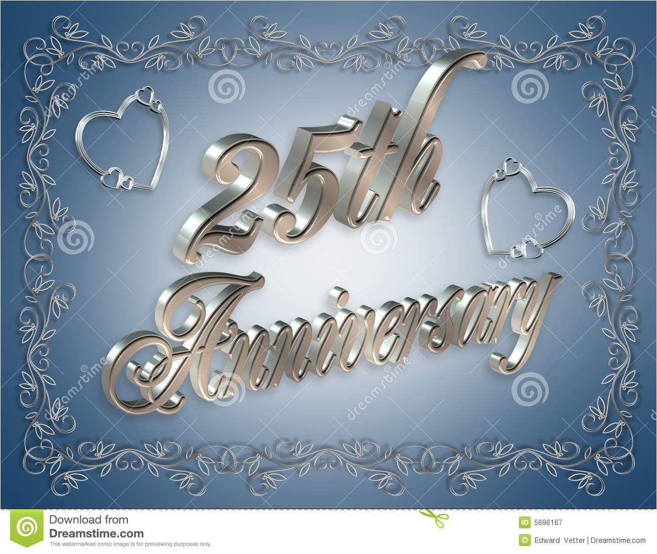 25th Wedding Anniversary Invitation Cards Free Download 25th Wedding Anniversary Cards Free Download Google