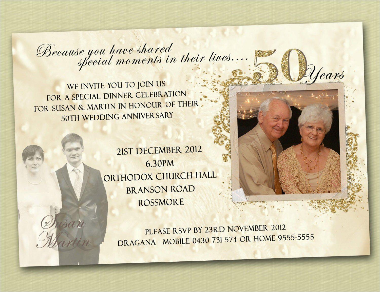 25th anniversary invitations ideas