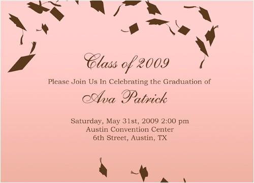 5th grade graduation invite wording