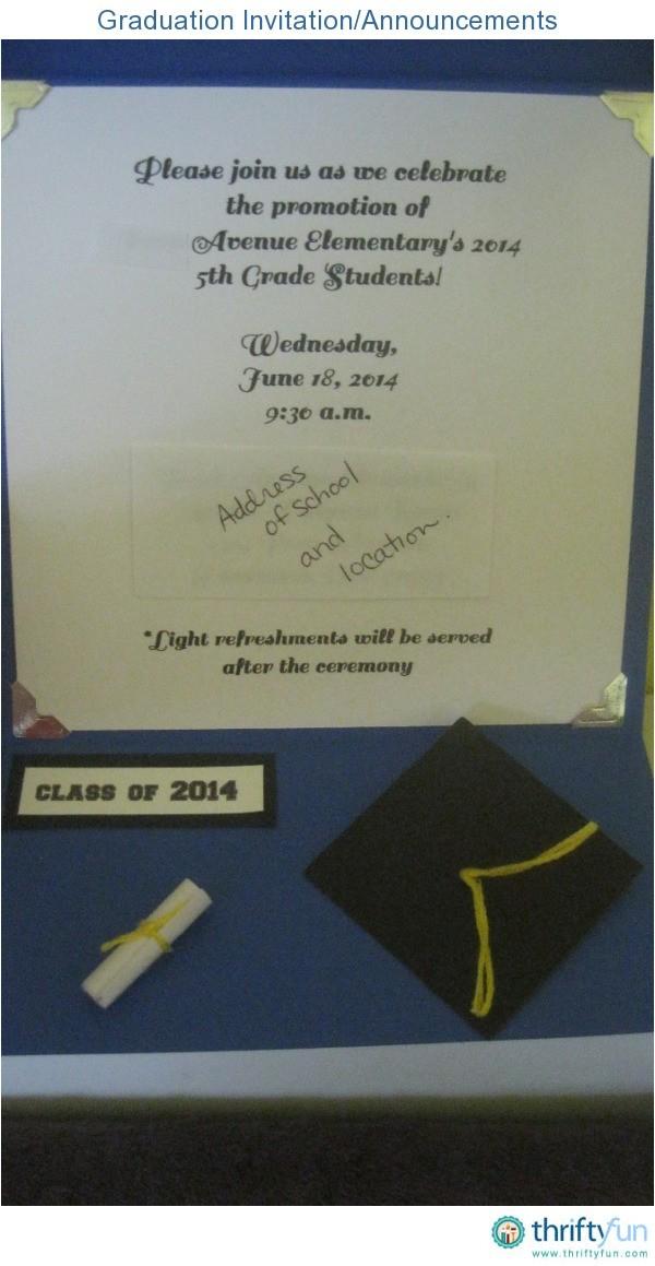 graduation invitationannouncements