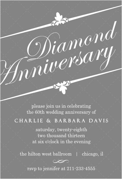 diamnond wedding anniversary