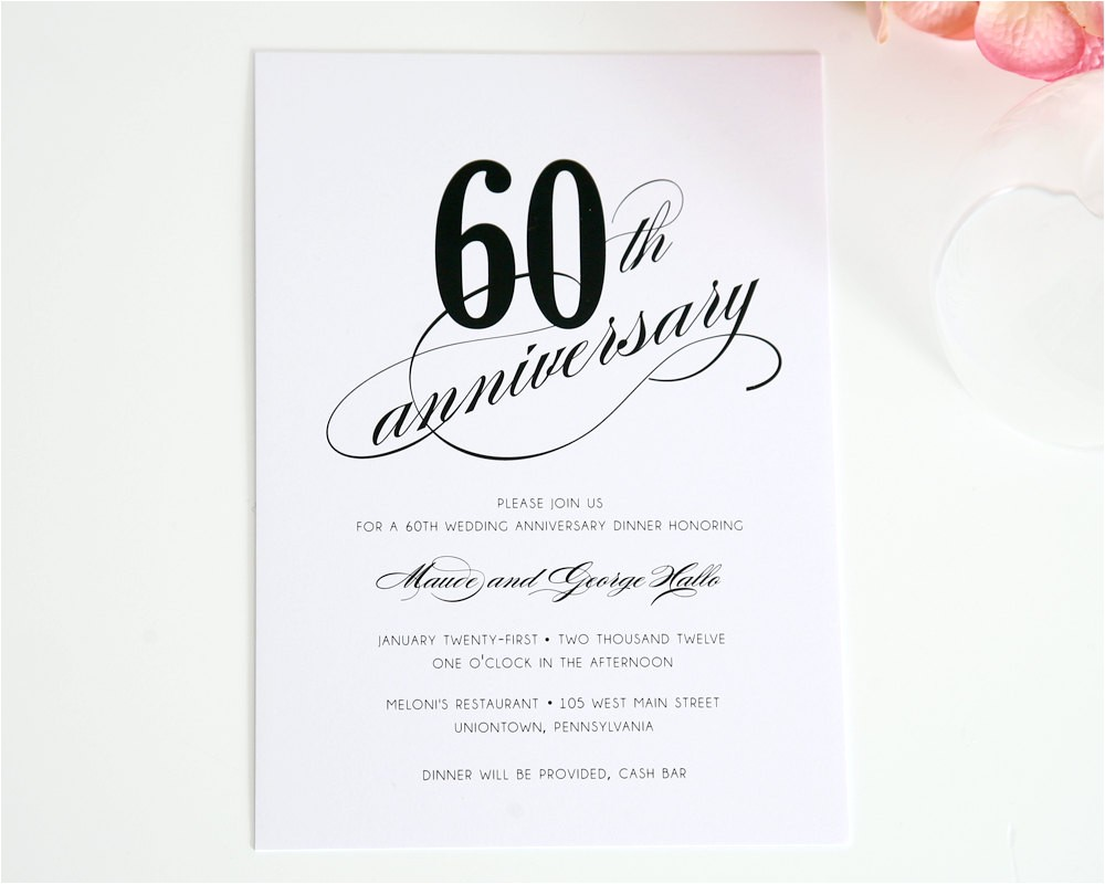happy 60th wedding anniversary quotes cards decorations invitations