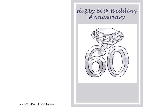 post anniversary card free printable template 41106