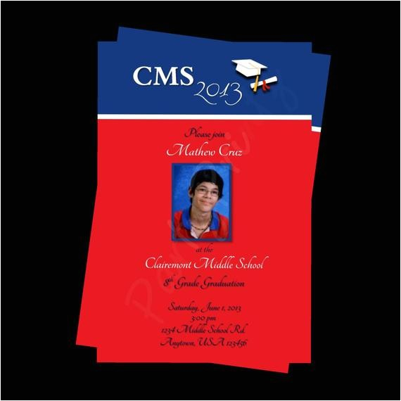 printable graduation invitations photo personalized custom