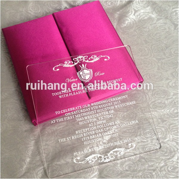 custom clear acrylic with silk wedding 60249584265