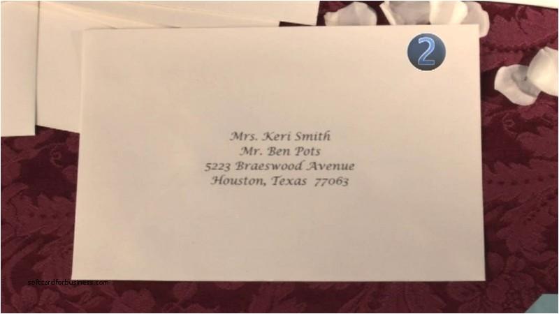 wedding invitation fresh proper way to address weddi