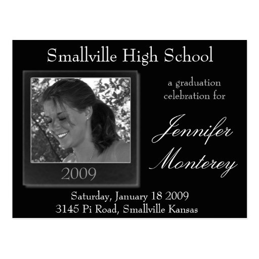 cheap graduation invitations photo postcard 239266168144801419