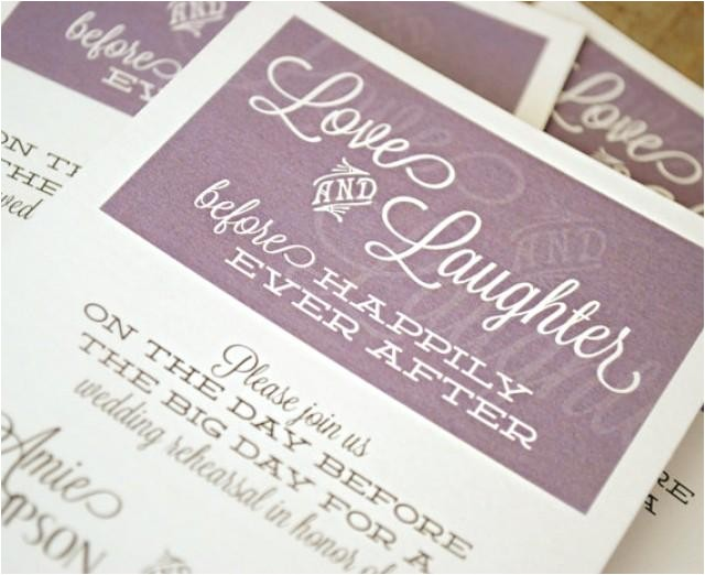 customized printable wedding rehearsal dinner invitation love laughter before happily ever after