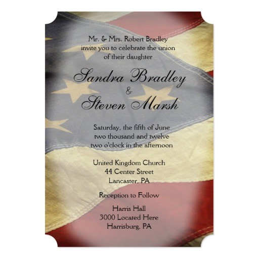 american flag wedding invitations 256553369969181730