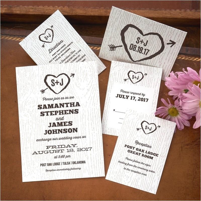 easy american wedding stationery