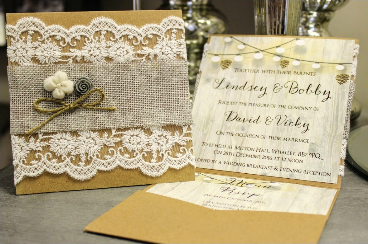 rusticvintage wedding invitations