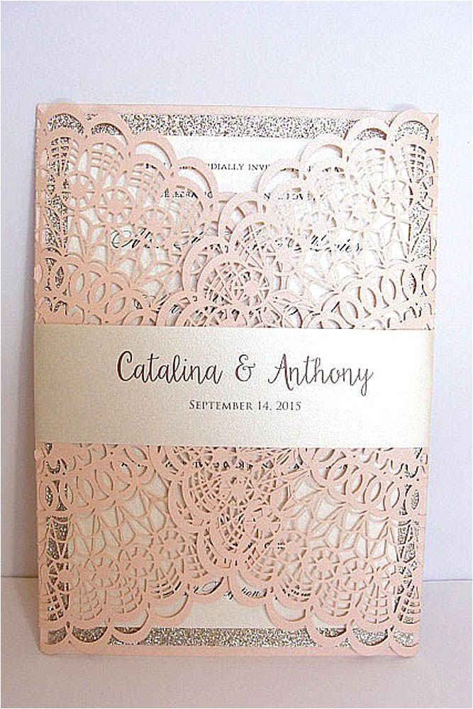 vintage ideas for wedding invitations 17