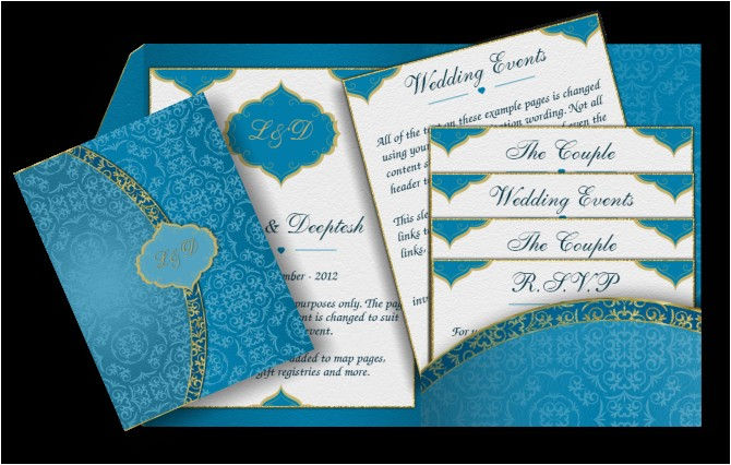 pocket style email indian wedding invitation card design 41