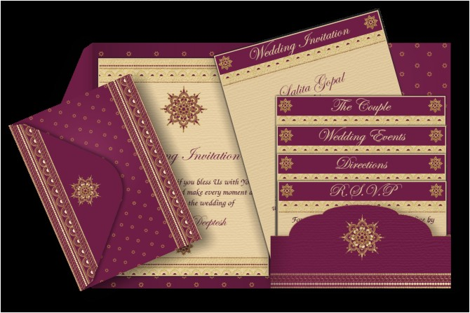 pocket style email indian wedding invitation card design 53
