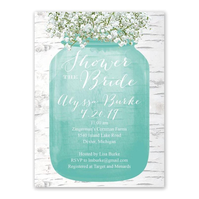 wedding shower invitations target