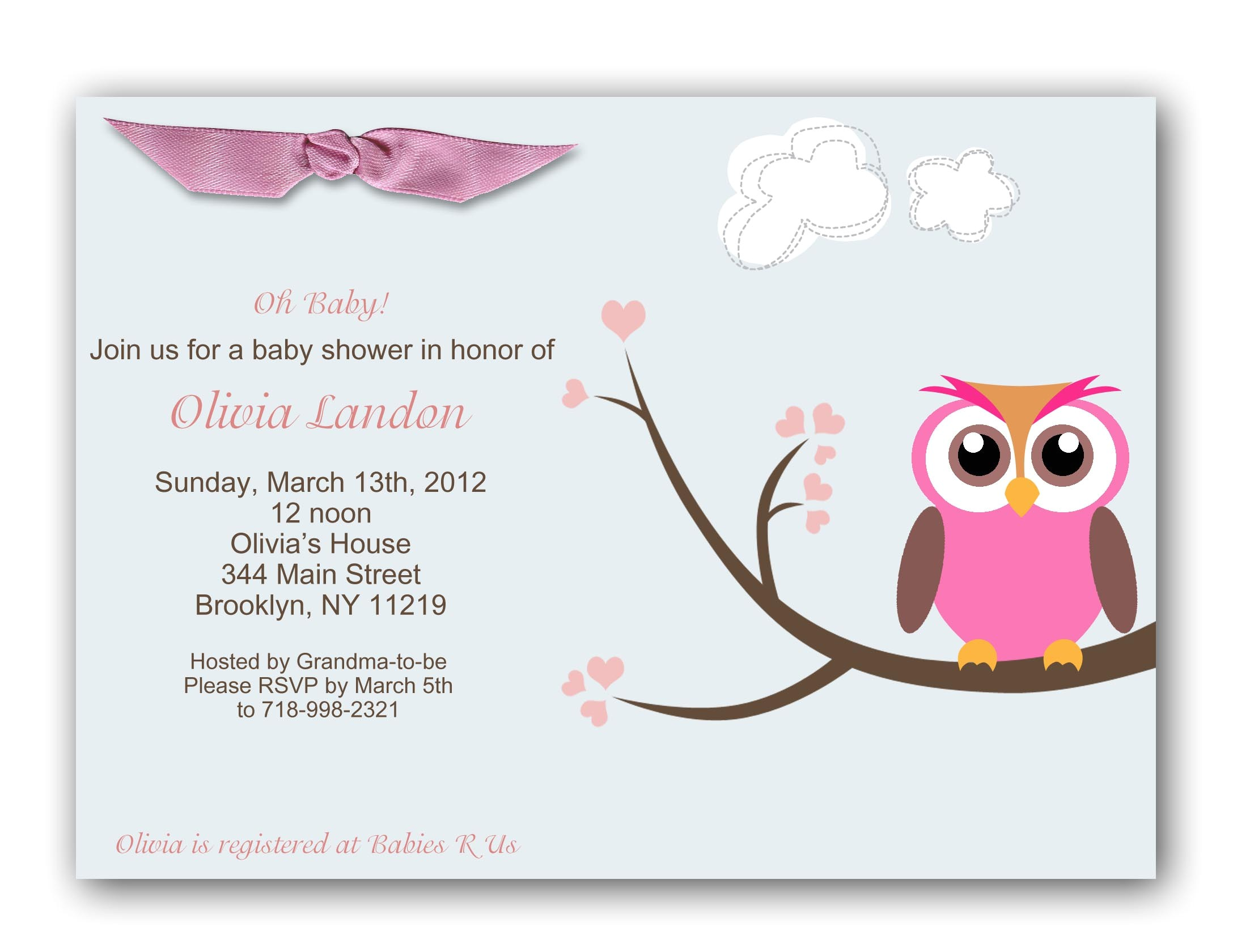 Baby Shower Images for Invitations Baby Shower Invitations for Girls Best Baby Decoration