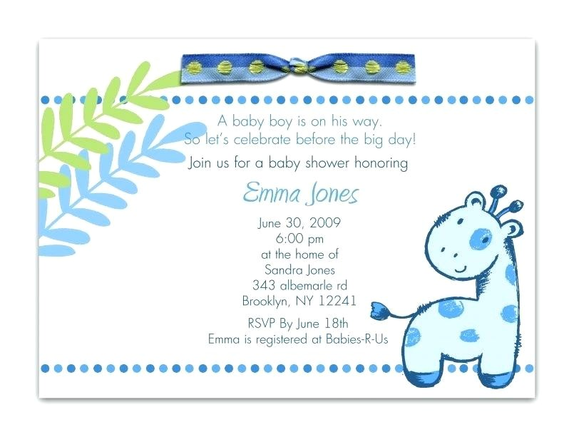 baby shower invitation quotes for boy