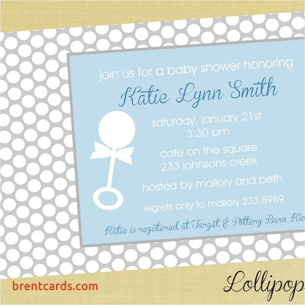 wording baby shower invitations