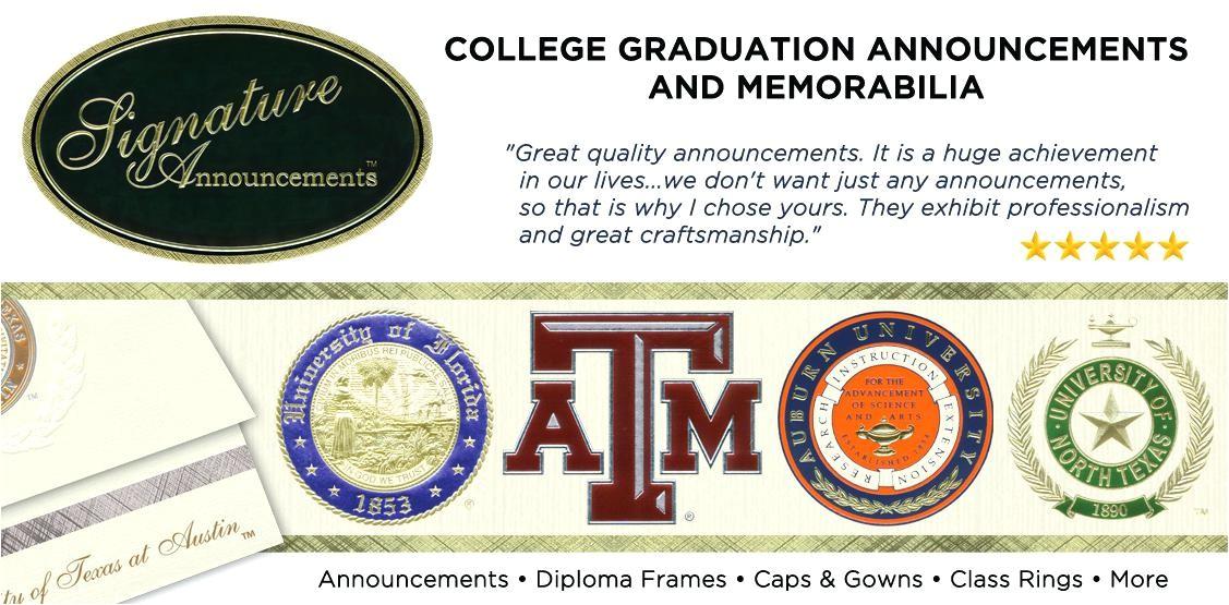 balfour graduation invitations