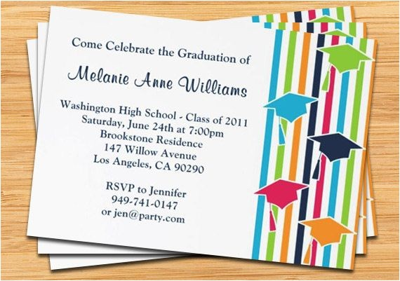 easy design graduation invitations cards simple many supplies celebrating white background wording