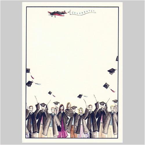 blank graduation invitation cards templates