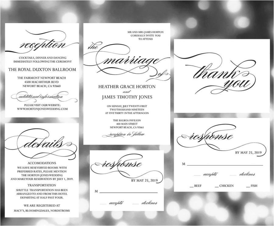 printable wedding invitation template wedding invites weddi