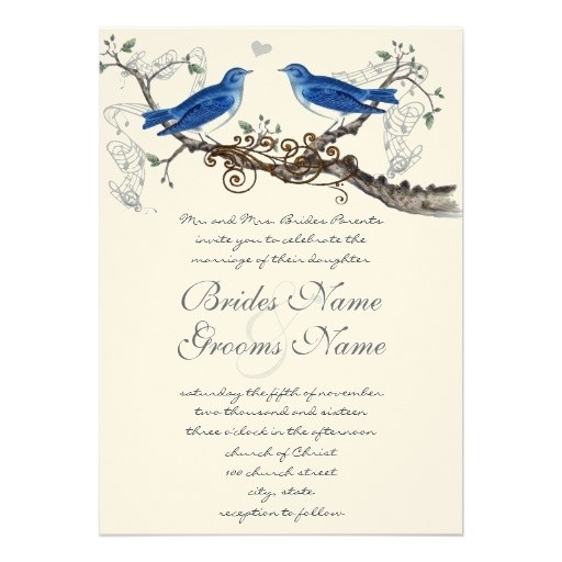 Bluebird Wedding Invitations 117 Best Images About Love Birds Wedding Invitations