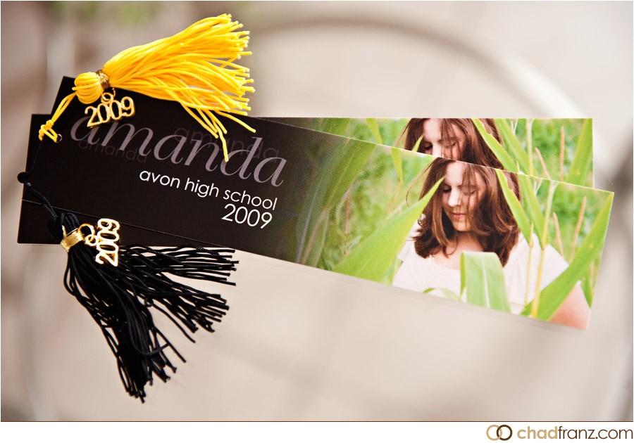 amandas party invitations bookmark style