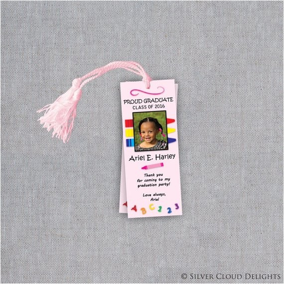 preschool graduation bookmarks pre k