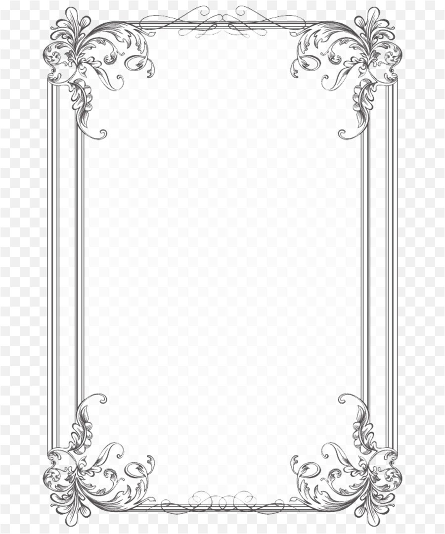 png borders and frames wedding invitation picture fram 716352
