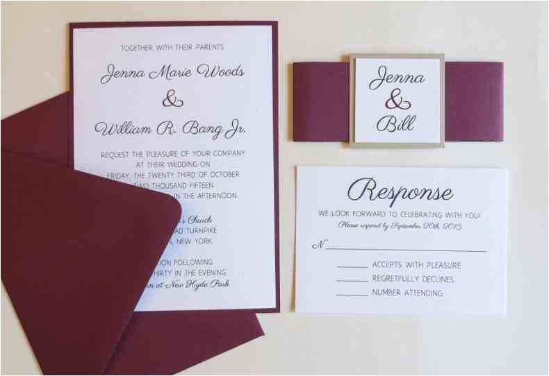 burgundy and ivory wedding invitations result for october rhpinterestph beautiful adornment resume rhmegansmissioninfo beautiful burgundy and jpg