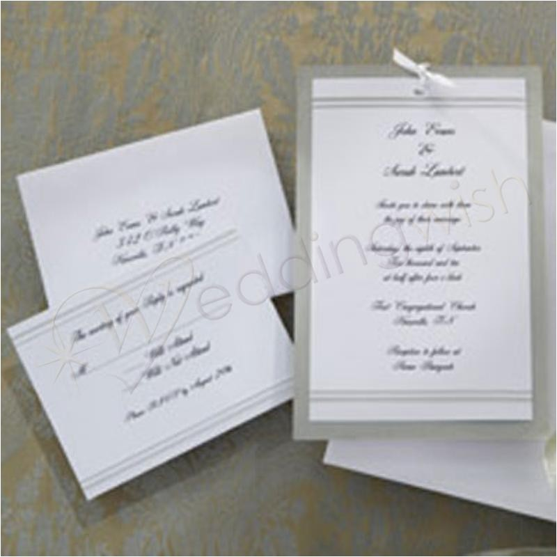 buy wedding invitations kits