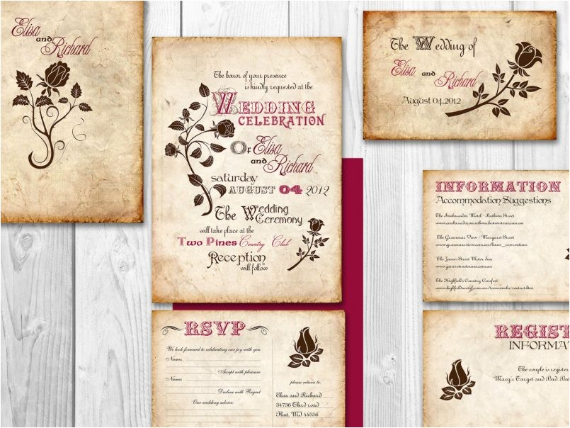 designs printable cheap blank wedding invitation kits