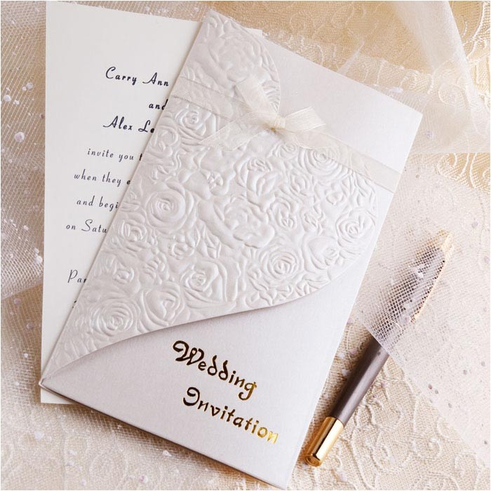 find your chic wedding invitation kits