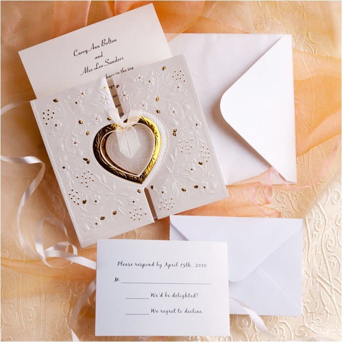 find your chic wedding invitation kits respond