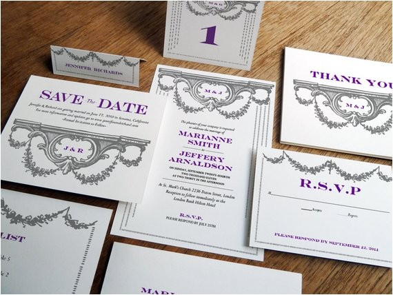 printable wedding invitation kit wedding