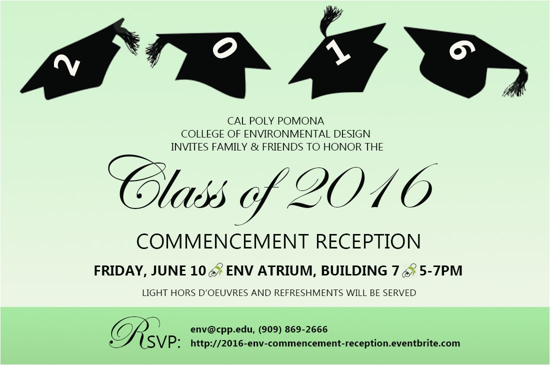 2016 env commencement reception tickets 25208157277