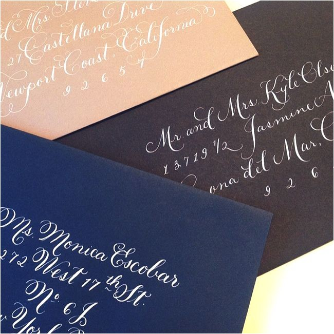 average cost of calligraphy for wedding invitations tags aver