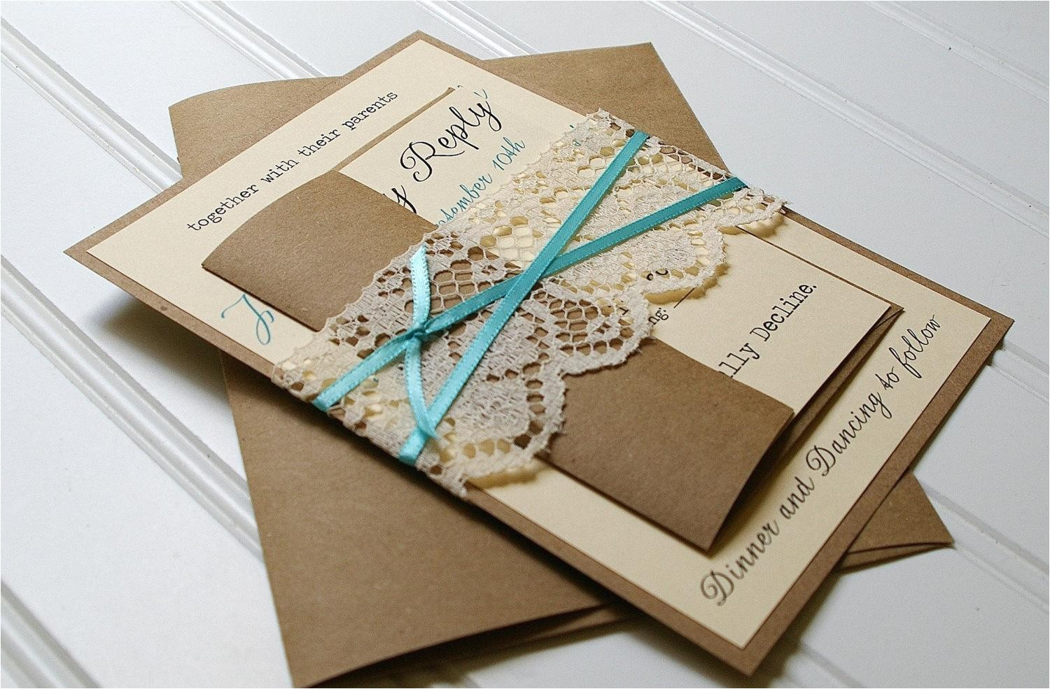 card making wedding invitations