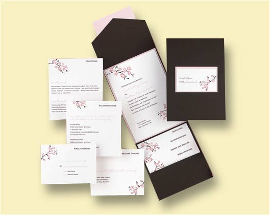 inflorescence invitations by carlson craft