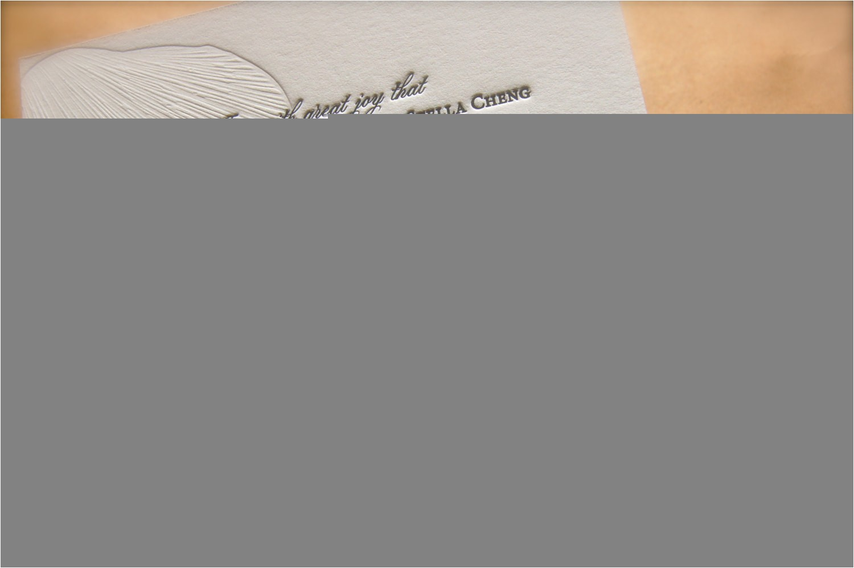 aqua and sand tan nautical letterpress