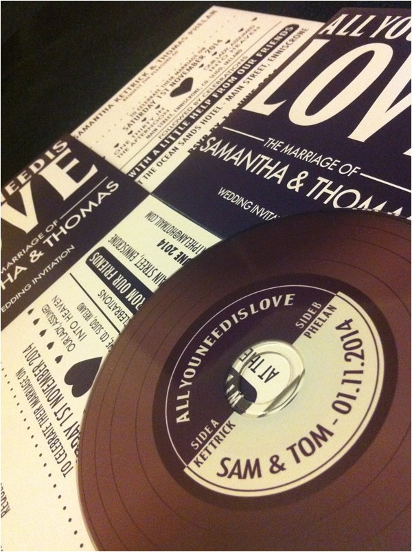 rsvip invitations custom and creative cd invitations for weddings events