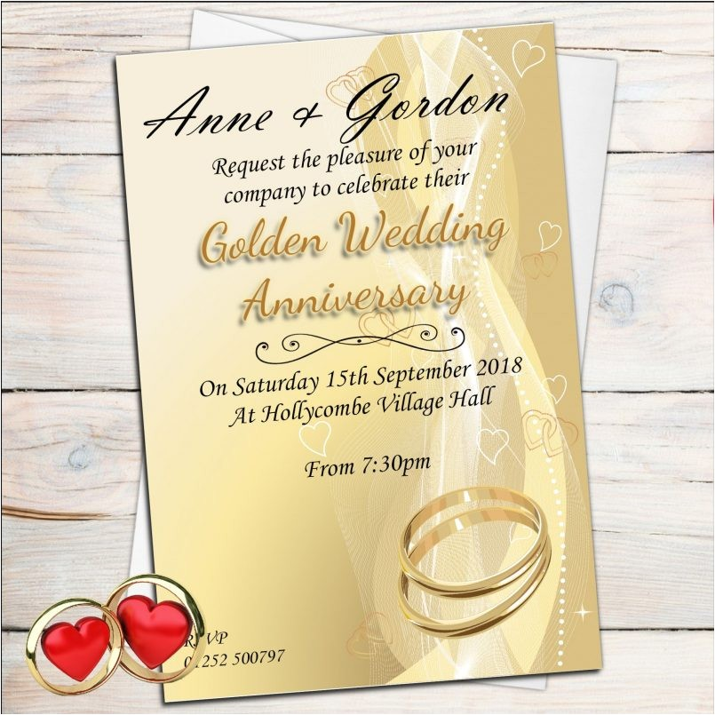templates photo invitations for th wedding anniversary als