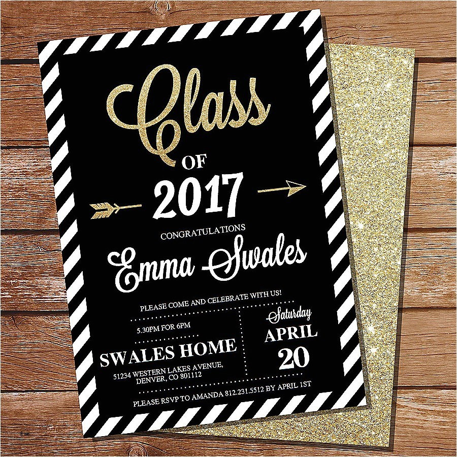 invitation card graduation party