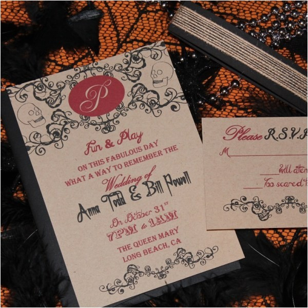 templates fall halloween wedding invitations with cheap weddi