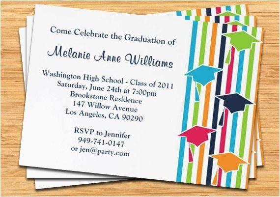 cheap graduation party invitations